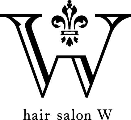 hair salon W ロゴ