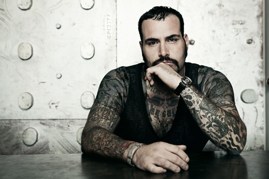 Tattoo Artist and NY Ink Shop Manager Robear Chinosi