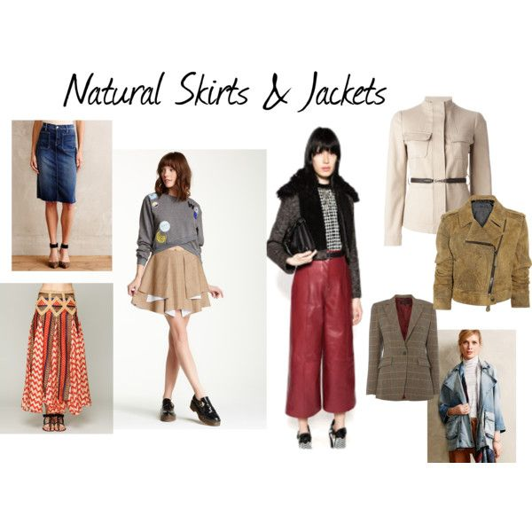 Natural Skirts & Jackets by expressingyourtruth on Polyvore featuring Gucci, Current/Elliott, Burberry, rag & bone, endless rose, Free People and Mother