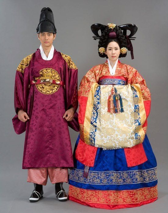 Traditional Wedding Hanbok Korea Royal