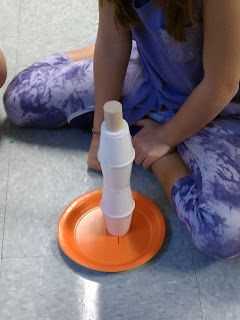 Science Gal: Team Building Activity - building structures