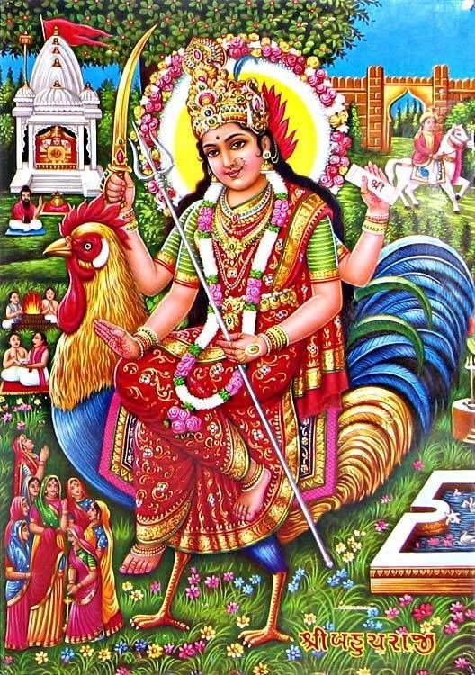 A Call For Bahuchara Mata. Bahuchara Mata is a form of the Divine Mother worshipped regionally by mainly Gujarati Hindus as their Kula Devi or family deity. She is also worshipped as the patron of...