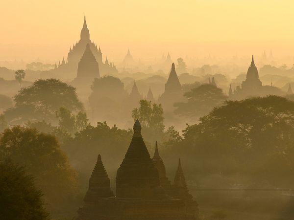 Templos Bagan Myanmar