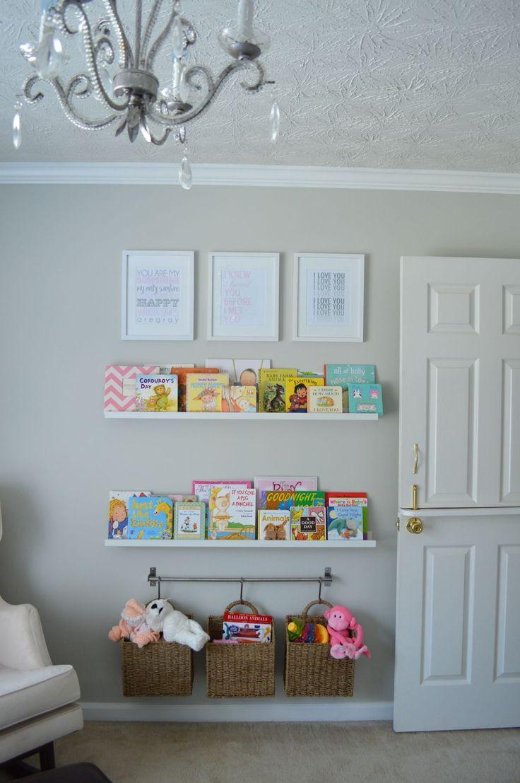 Kinderzimmer Bücherregal Ideen mit niedlichen und ...