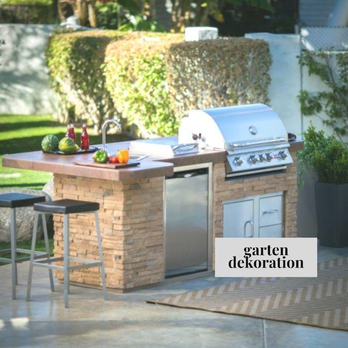 Außenküche selber bauen – 22 gute Ideen und wichtige Tipps #bauen #enkuche #ideen #selber #tipps