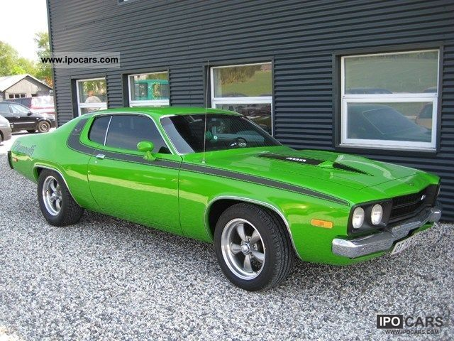 1973 Plymouth Roadrunner 6.6 400cui. Big Block V8