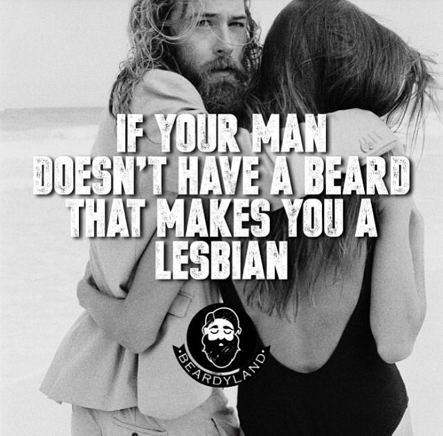 You, my friend, are thinking of growing a beard.