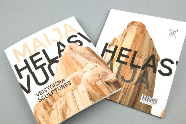 Maija Helasvuo, sculptures – book design. Intro Design.