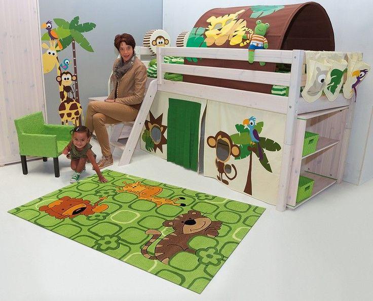 die besten 25 kinderteppich gr n ideen auf pinterest. Black Bedroom Furniture Sets. Home Design Ideas