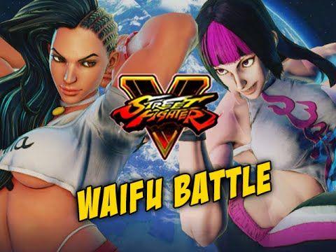WAIFU BATTLE: Juri - Street Fighter 5 Online Matches Pt.4