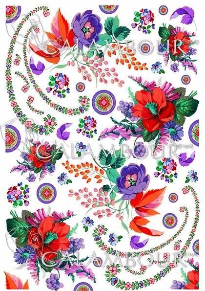 DGR 303 #decoupage  #hobby #flowers #cartadiriso #carta #ricepaper #craft #calambour #handmade #decoration #cachemire #paisley #gipsy