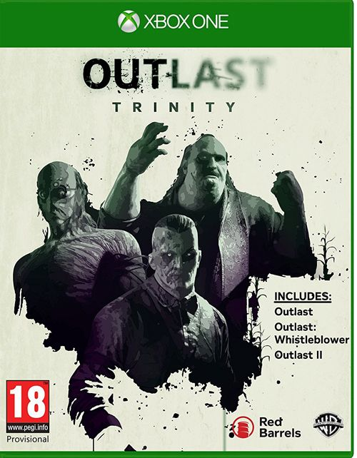 Pre-order Outlast Trinity Xbox One game. The Ultimate Horror Bundle features over 20 hours of terrifying gameplay across Outlast 1, Outlast Whistleblower and the all new Outlast 2.