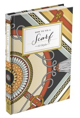 Book - Knotted How to tie a scarf - White Apple Gifts