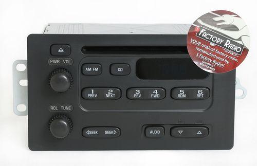 Remanufacture SERVICE for 2003-2007 Chevy Express GMC Savana Van AM FM CD Radio