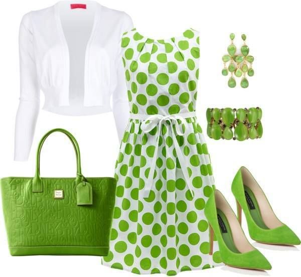 Ropas De Baño Verde Limon:Outfit Set For Ladies