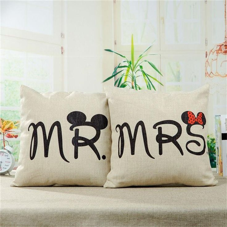 Free Mr and Mrs Pillow - Hot Selling Item