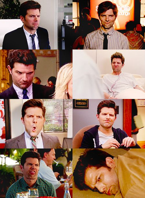 The many faces of Ben Wyatt