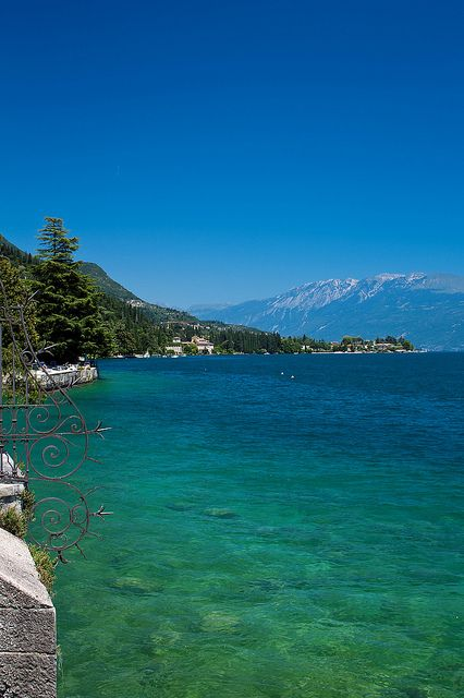 View from Salo, Lake Garda, Italy My grandparents often visited here. A place of ancestral energy..