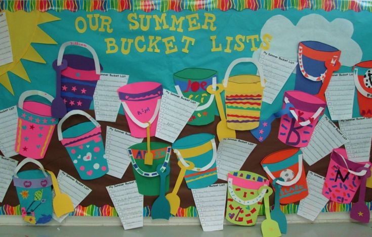 Our Summer Bucket Lists | Scholastic.com  What a great idea!