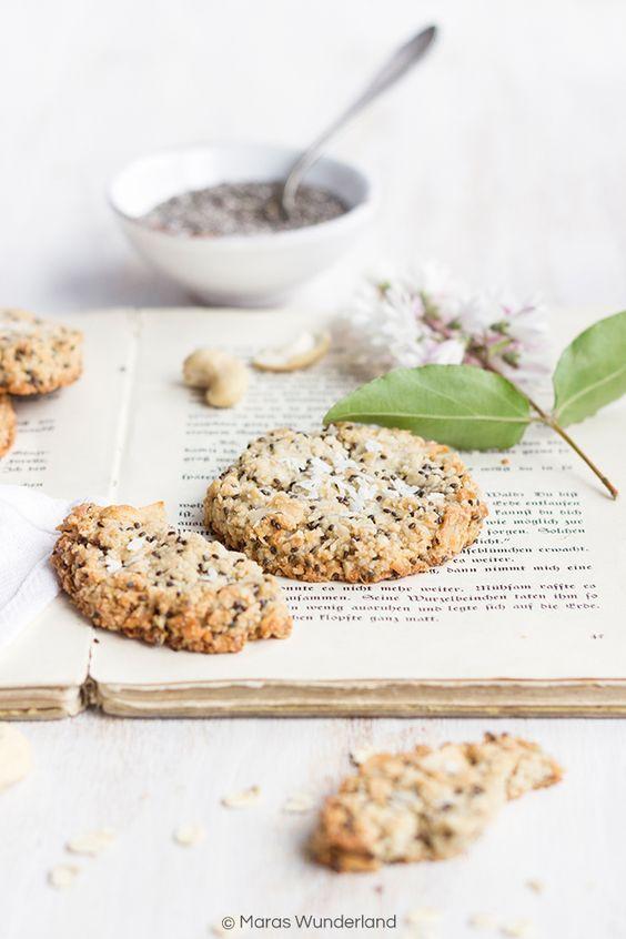 Gesunde Chia Zitronen Cookies | Rezept | Rezepte ...