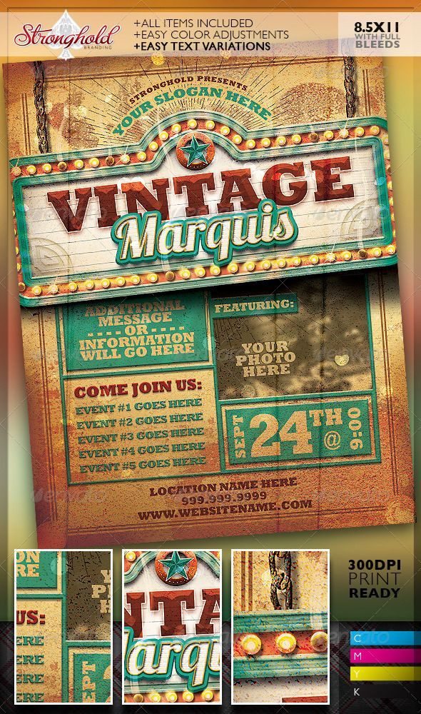 140 Best Vintage Flyers Images On Pinterest Flyer Design Font