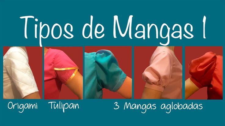 Tipos de mangas 1 ~Origami, Tulipan, y Aglobadas