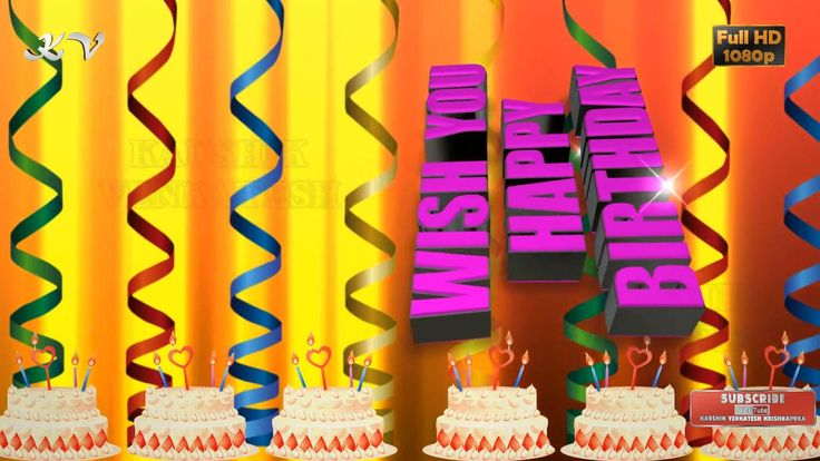Happy Birthday Wishes, Birthday Wishes, Birthday Wishes Video, Birthday ...