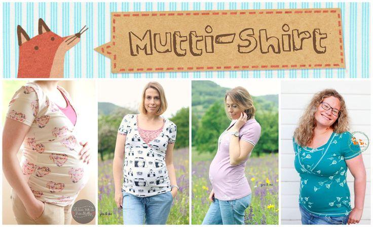 Stillmode - E-Book/Anleitung Mutti-Shirt XS-XXL - ein Designerstück von Annas-Country bei DaWanda