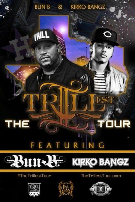 Bun B & Kirko Bangz Announce 'The Trillest' Tour  