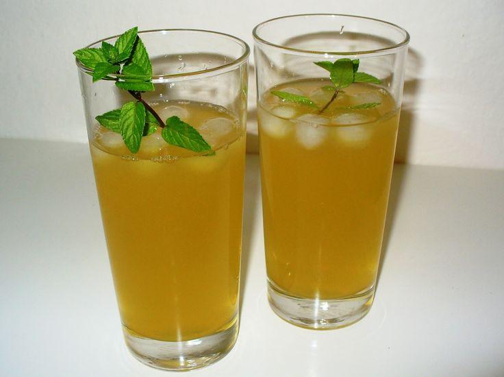 Môj sladký život v Koláčikove: Mätovo-zázvorová limonáda