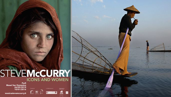 Forlì. Steve McCurry. Icons and Women.
