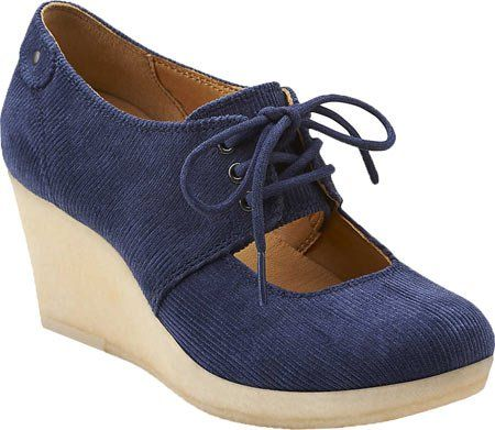 Clarks 64844 Womens Vogue Tulip Leather Navy 6 M Clarks,http://www