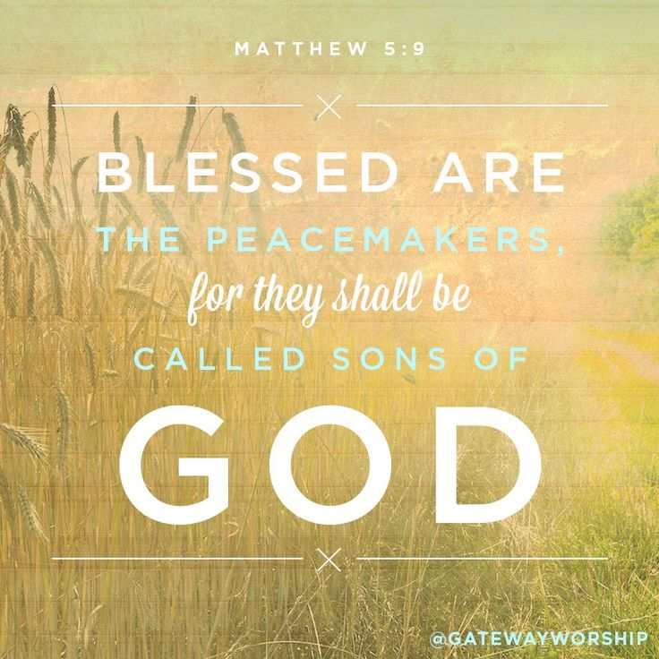 Peacemaker Quotes | Bible Verses About Peacemakers Quotes