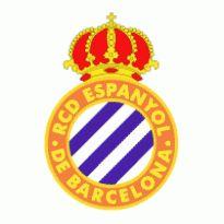 RCD Espanyol De Barcelona Logo. Get this logo in Vector format from https://logovectors.net/rcd-espanyol-de-barcelona/