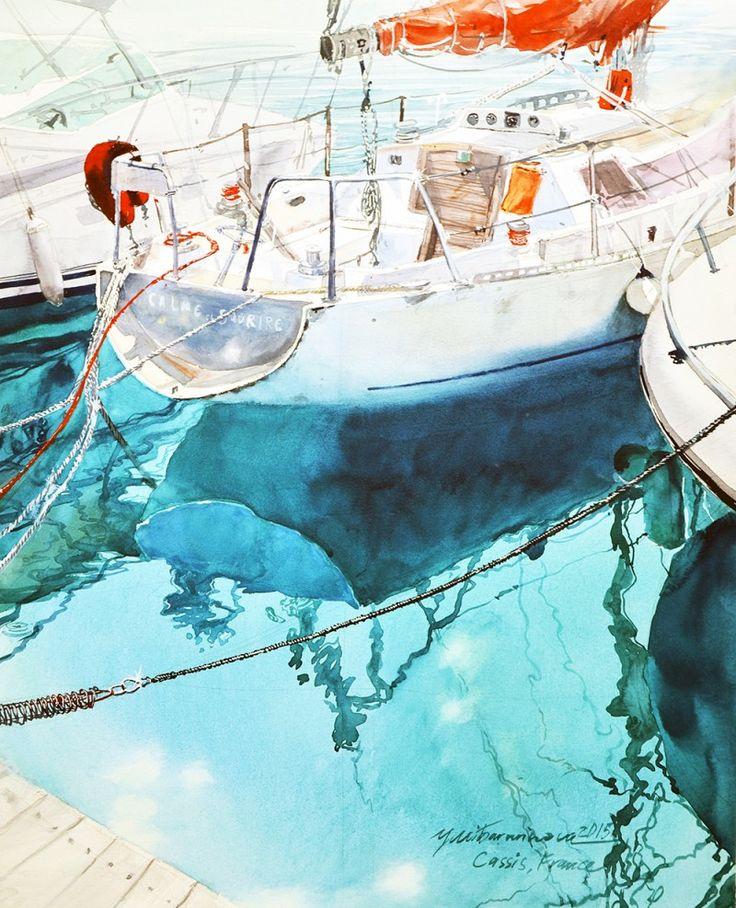 Escoda News - News - Brushes´ Tales - Julia Barminova's artwork