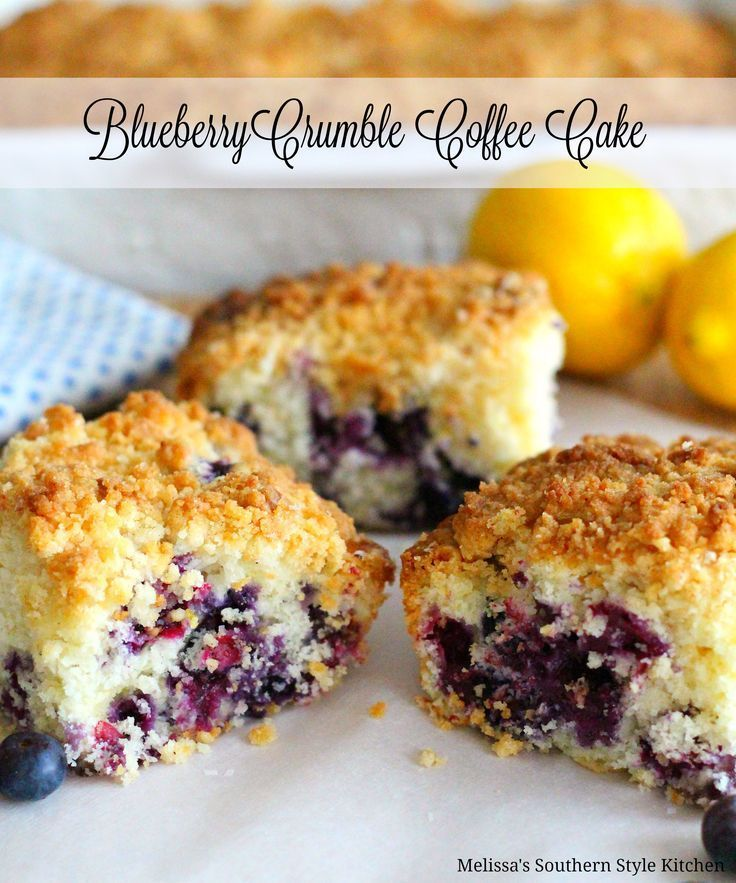 I'm convinced that coffee cake was created just so we could enjoy cake for breakfast. This blueberry crumble coffee cake is an excellent choice when fresh blueberries are in abundance and perfection with a cup of coffee or hot tea. The buttery golden crumb topping is the crowning touch to the lightly lemon flavor of...Read More »