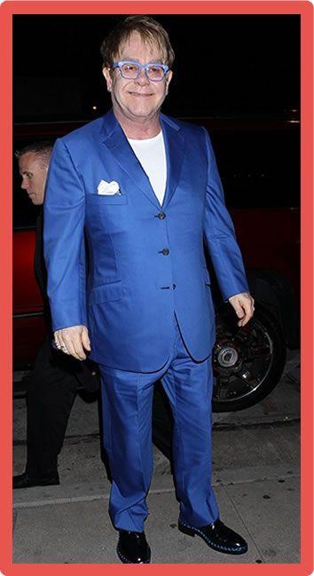 Elton John Body Statistics Measurements Elton John Net Worth #EltonJohnNetWorth #EltonJohn #celebritypost