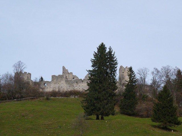 Für kleine Ritter: Burgruine Hohenfreyberg bei Pfronten