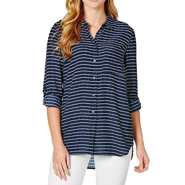 Classic Pocket Shirt - Navy | Target Australia