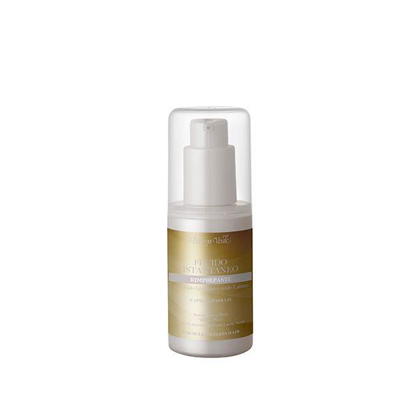Fluido instantáneo - efecto relleno - con ácido Hialurónico y ácido Láctico - cabello debilitado (75 ml)