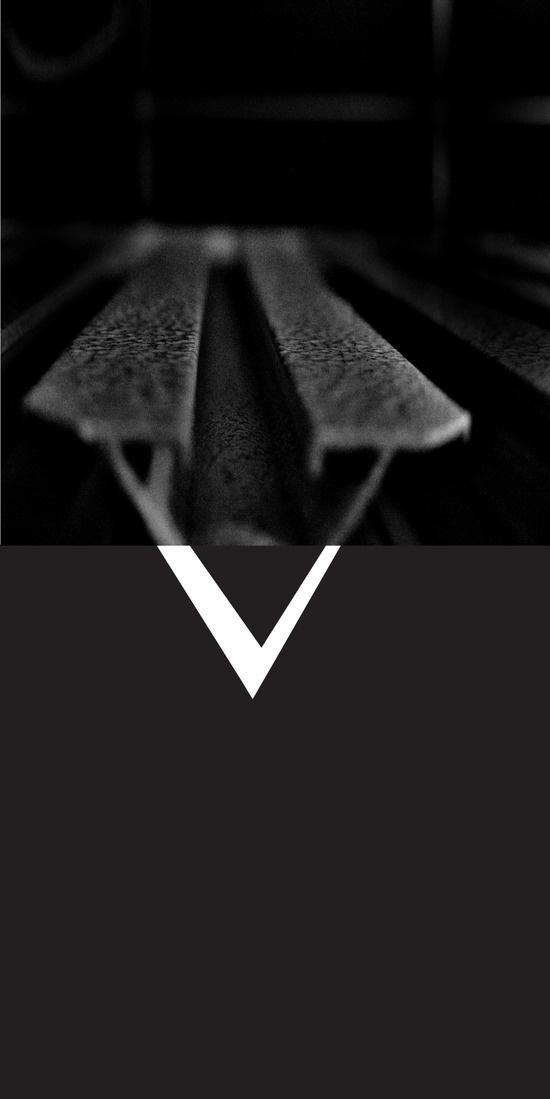 V on the radiator