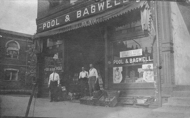 Pool bagwell grocery store greenville south carolina for Craft stores greenville sc