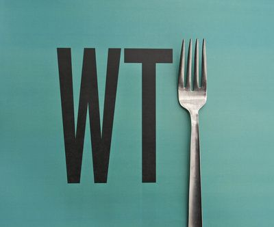 what the heck, 2 future kitchen prints. Designed by David Schwen.: Laughing, Forks, Quote, Giggl, Art Prints, Things, Funnies Commercial, David Schwen, Funnies Stuff