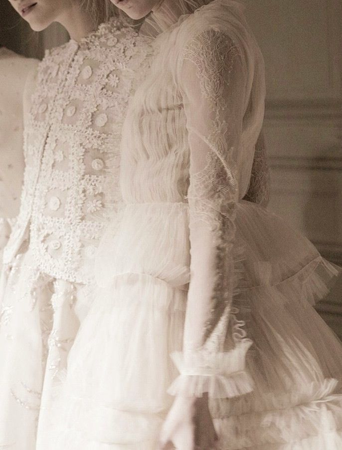 Backstage at Valentino Haute Couture Spring 2013