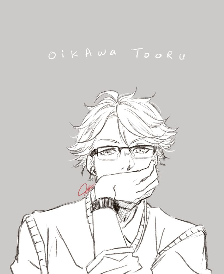 oikawa, glasses, http://2bee-artblog.tumblr.com/post/126283467868/someone-forgot-to-do-their-summer-vacation
