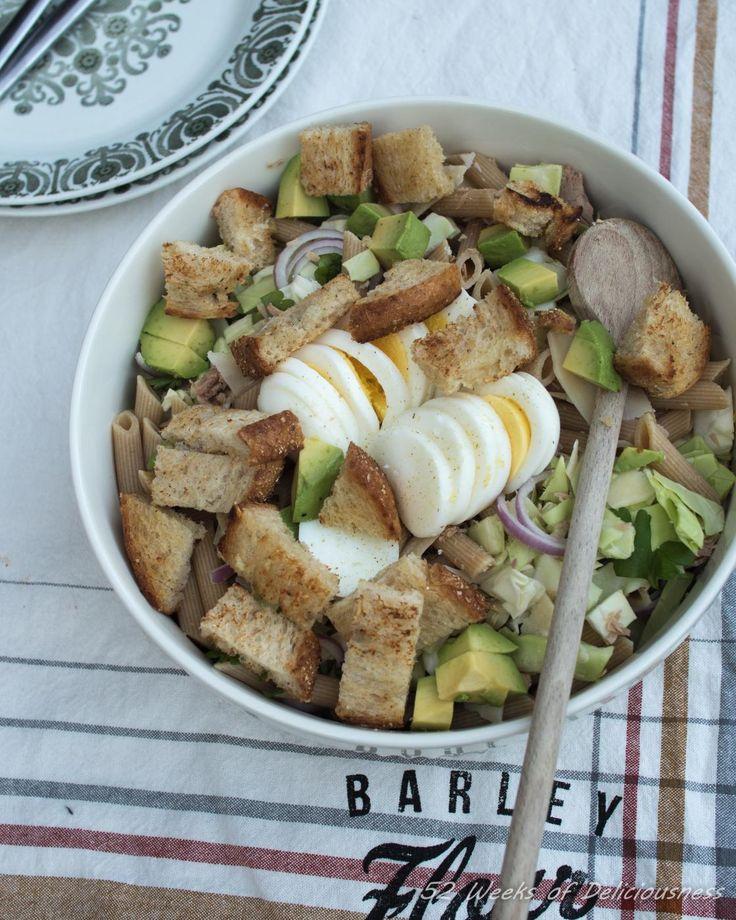 Tuna-Avocado-Cabbage Salad