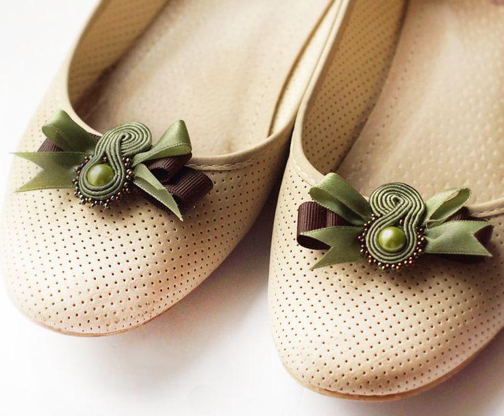 Special price Soutache clips shoes gratis por MrOsOutache en Etsy