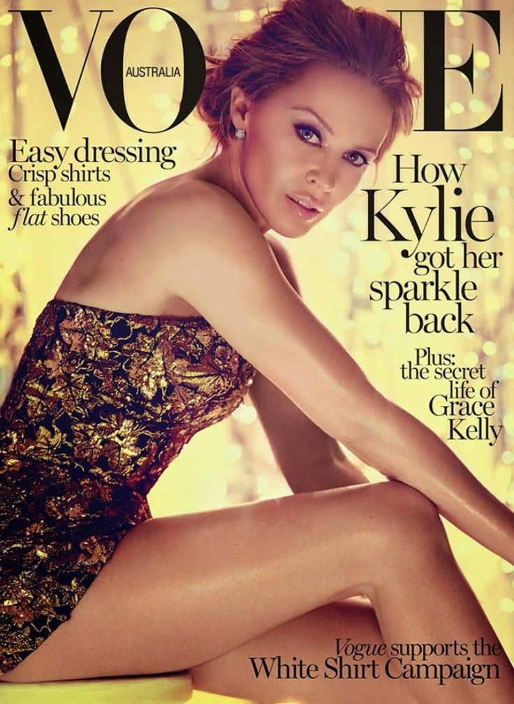 Kylie Minogue for Vogue Australia, May 2014