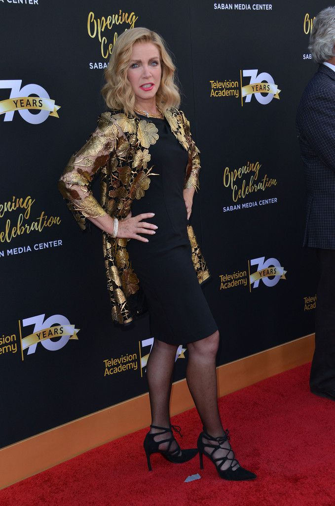 Donna Mills Photos - Television Academy's 70th Anniversary Gala - Arrivals - Zimbio