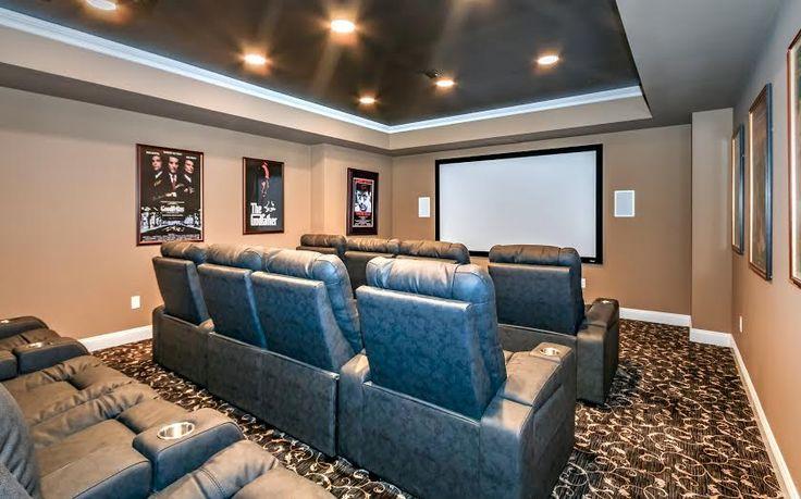 Media/Home Theater Design Ideas Http://www.pinterest.com/